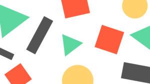 Colore mes jours - Fond d'écran - Blanc