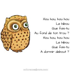 Hou hou, le hibou